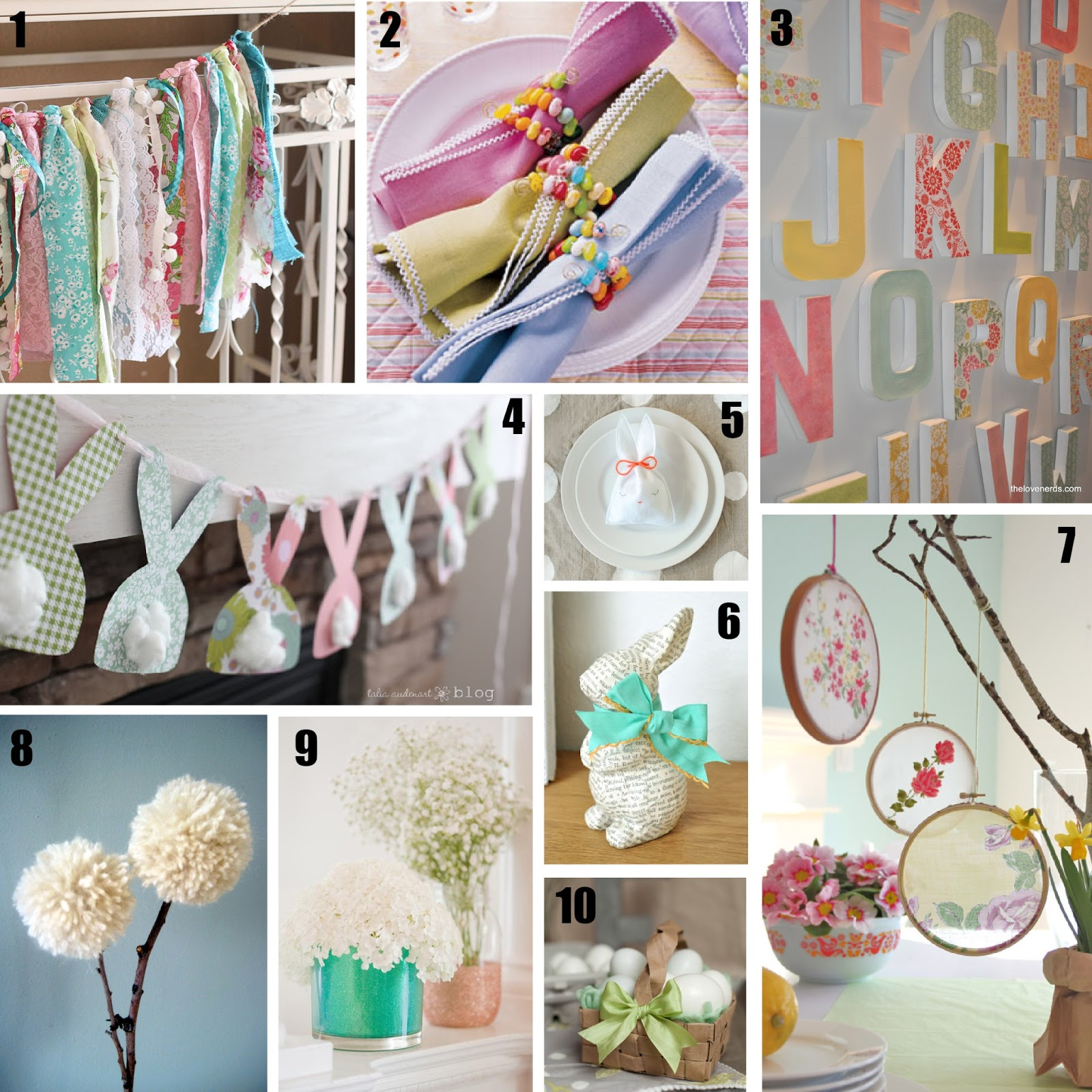 DIY: Spring Decor And Projects Roundup