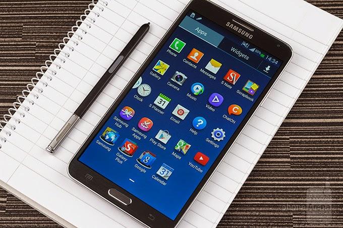 Spesifikasi dan harga Hp samsung Galaxy note 3