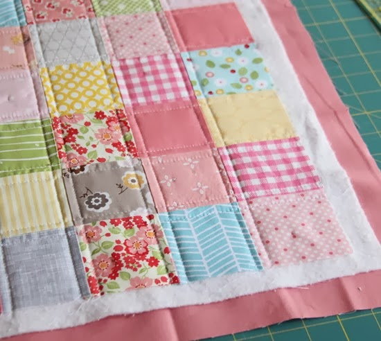 Binding a quilt with the quilt back | Cluck Cluck Sew : what is batting in quilting - Adamdwight.com