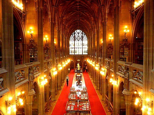 Visitar Biblioteca John Rylands Library