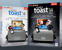 Disponibile Toast 14 Titanium e Toast 14 Pro per Mac OS X