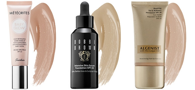 "SPRING 2015 MAKEUP: 30 Fabulous New Releases.Prolece 2015, sminka, novo na trzistu.New from Sephora.Guerlain ""Meteorites baby glow"".Bobbi Brown ""Intensive skin serum foundation"".Algenist ""Repairing tint & radiance moisturizer"""