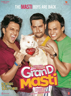 Grand Masti Full Movie 2013 Watch Online Hindi Movie Free Poster