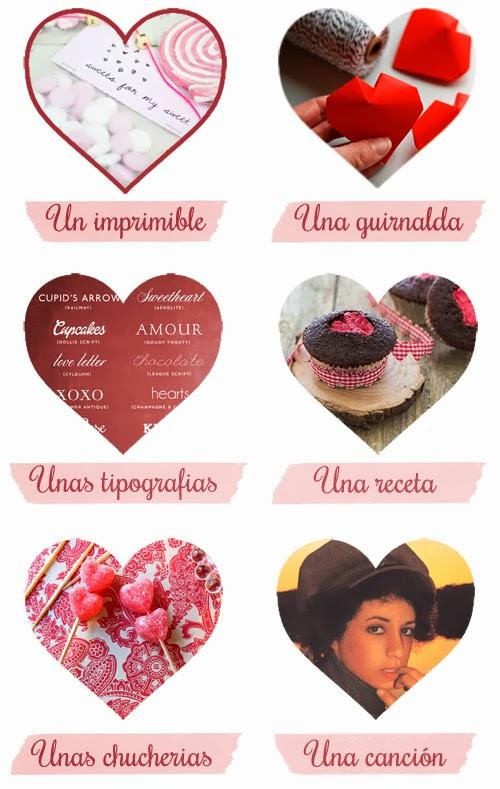 14 de febrero ideas San Valentin