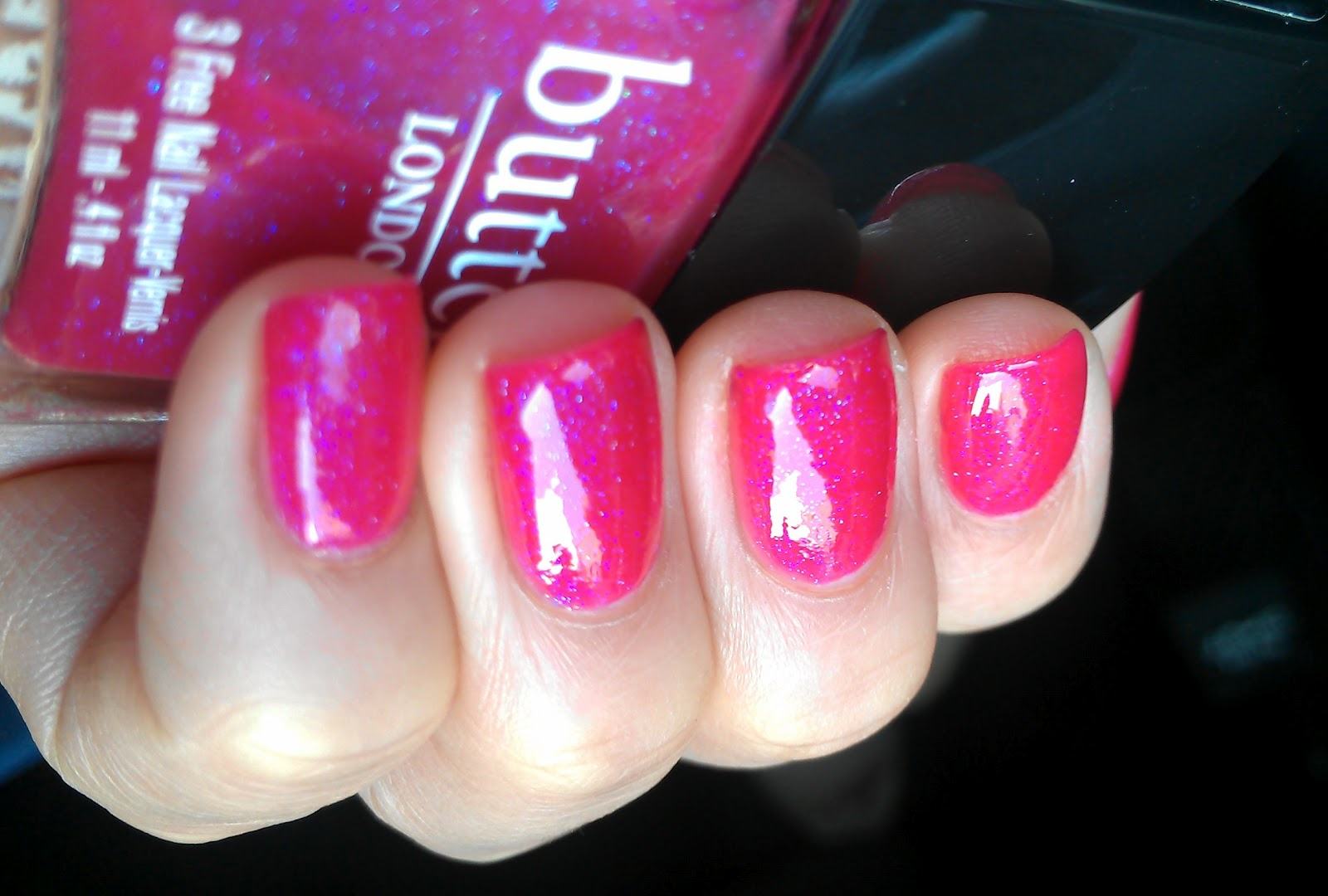 Polish Amor ♥: butter LONDON - Disco Biscuit Swatch and Review