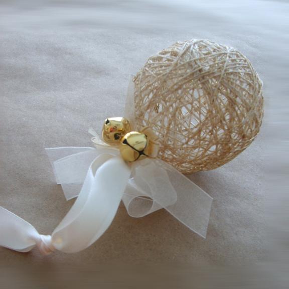 Gypsy stash by paula string ornament tutorial - String ornaments christmas ...