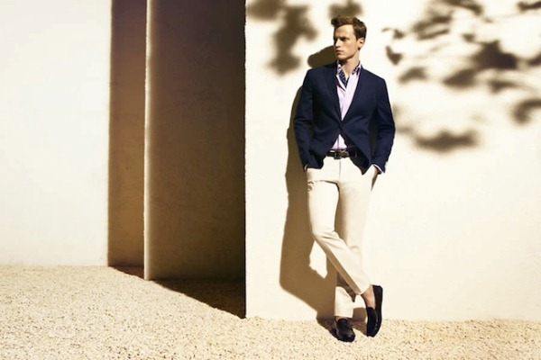 Massimo Dutti Menswear June 2012 Lookbook- photo 7
