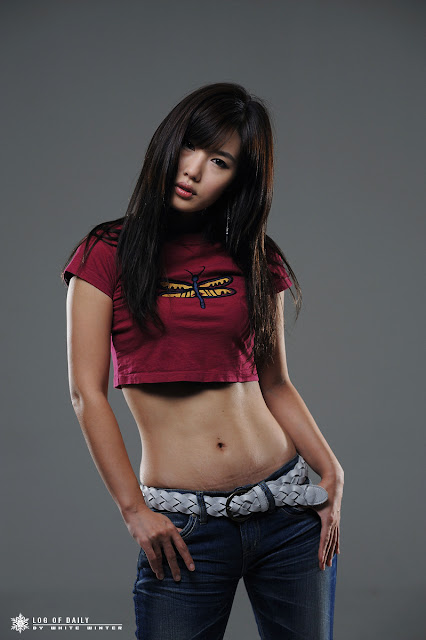 4 Song Jina in Purple-Very cute asian girl - girlcute4u.blogspot.com