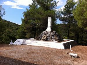 Το μνημείο προς τιμήν των Οπλαρχηγών της Ρούμελης