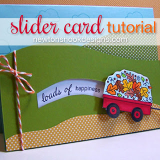 Penny Slider Card tutorial - Newton's Nook Designs
