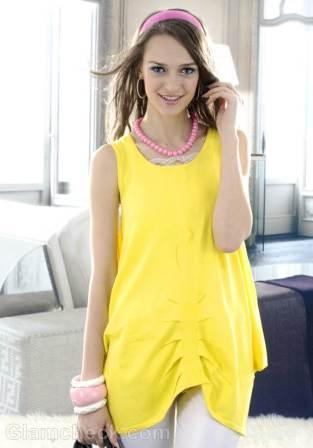 Yellow-Tunic-Summer-Look