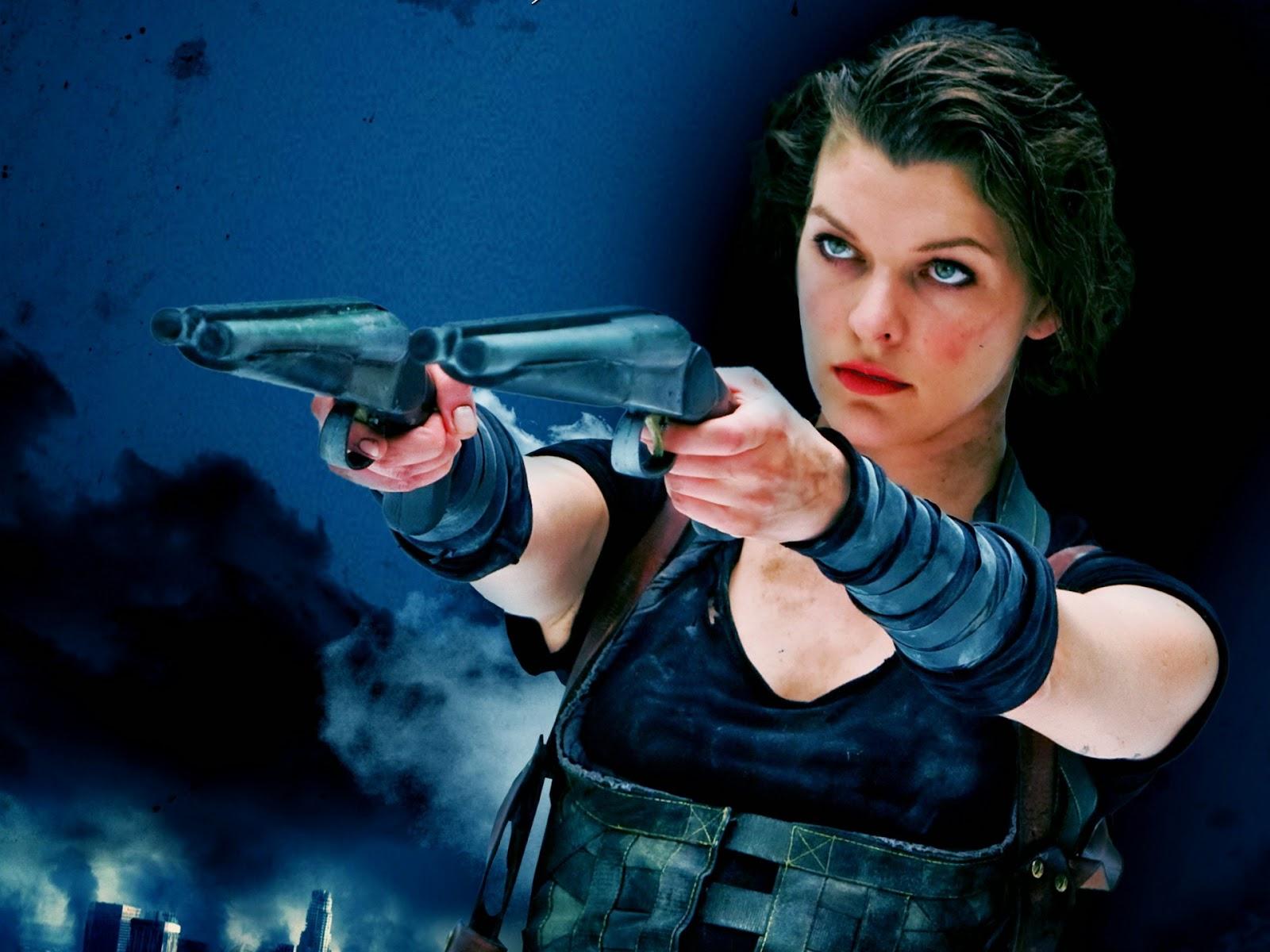 image Milla jovovich in resident evil