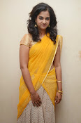 Nanditha raj latest photos in half saree-thumbnail-10