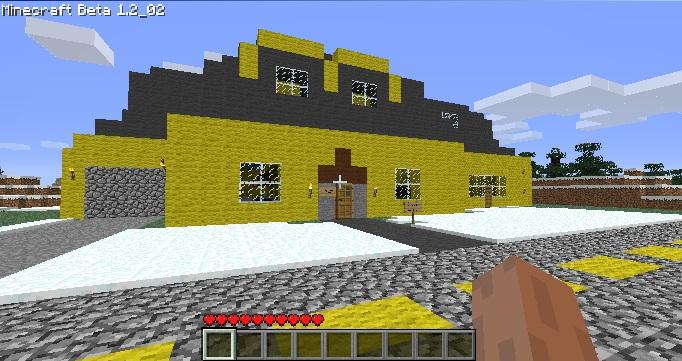 Map family guy house v1 2 for minecraft