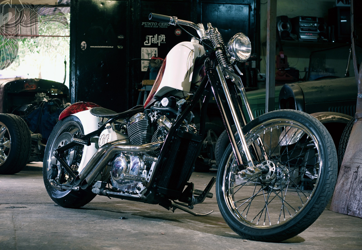 so-cal shadow - 1993 honda vt600 chopper