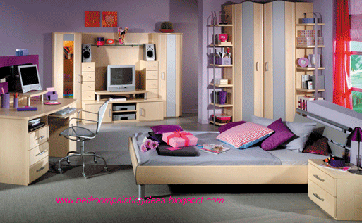 Bedroom Painting Ideas For Teenage Girls, Pictures Bedroom Painting Ideas ...