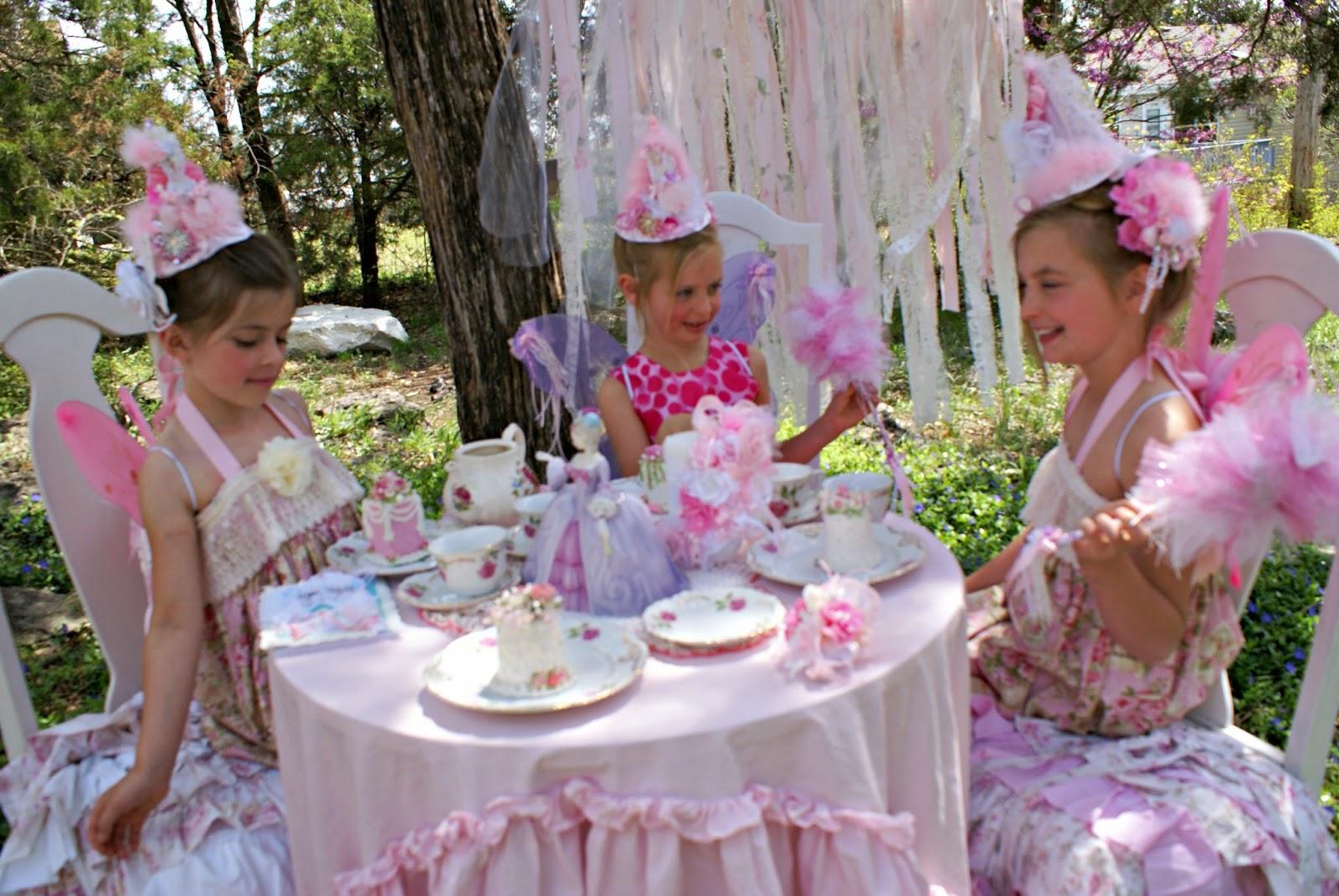 Olivia's Romantic Home: Fairy Princess Garden Tea Party