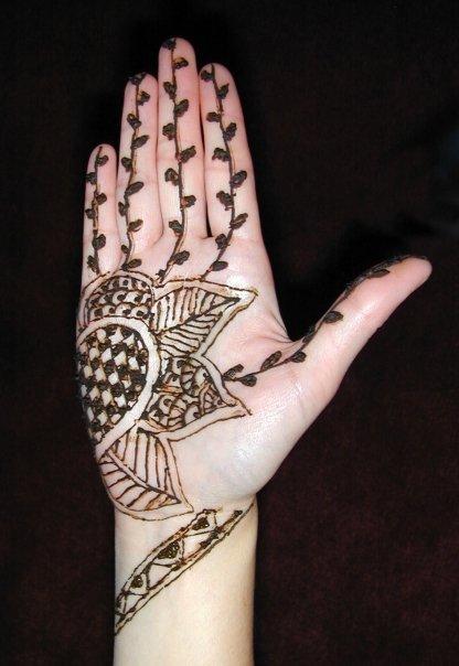 Mehndi Tattoo For Kids : Mehndi designs for children the tattoo