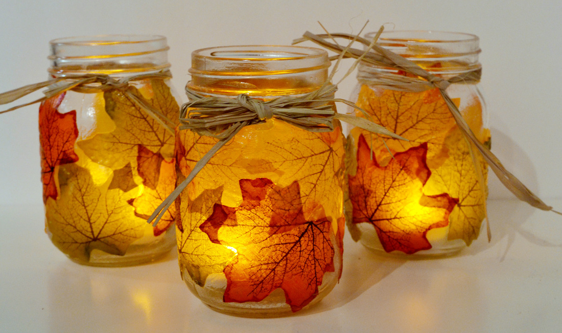 Diy autumn mason jars do it yourself ideas and projects