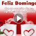 FELIZ HERMOSO DOMINGO -  Que tengas un bendecido día con la paz que Dios da, TQM