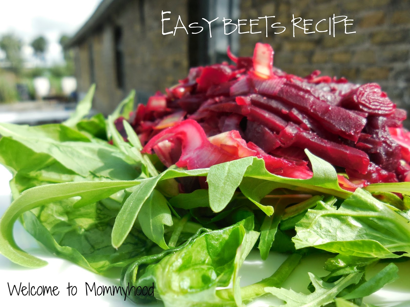 Easy Beets Recipe by Welcome to Mommyhood #paleo, #Whole30, #vegan, #vegetarian, #EasyBeetsRecipe