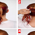 The Fishtail Ponytail Hairstyle Tutorial For Wet Hair - Wet Hairstyle Tutorial