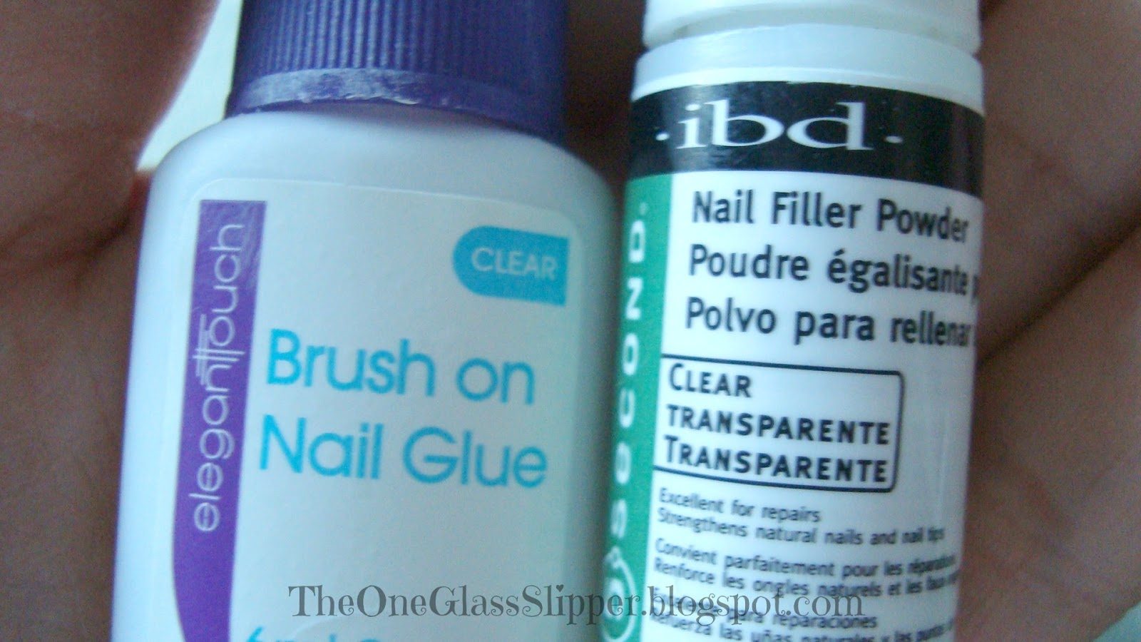 One Glass Slipper: DIY-How To Fix A Broken Nail!