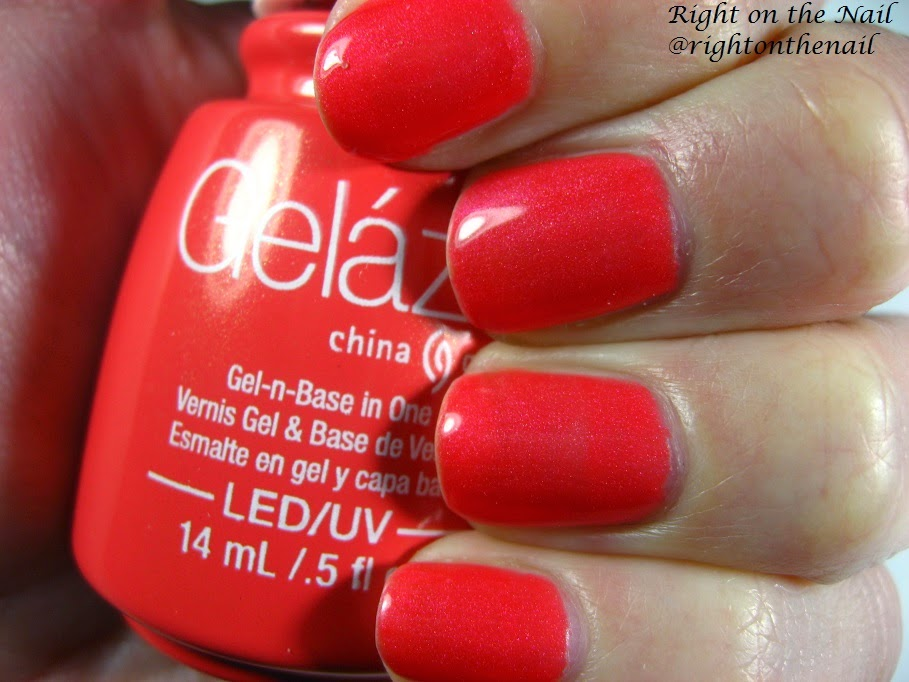 Right on the Nail: Right on the Nail ~ China Glaze Gelaze Swatches ...