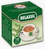 Relaxul - infusión hecha a base de plantas relajantes