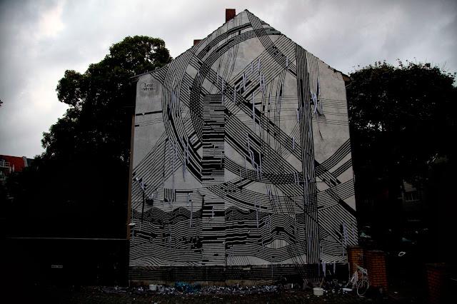 Street Art By Sten Lex In Cologne, Germany For CityLeaks Urban Art Festival. 4