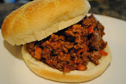 Campfired-Up Sloppy Joes