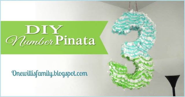DIY Number Pinata