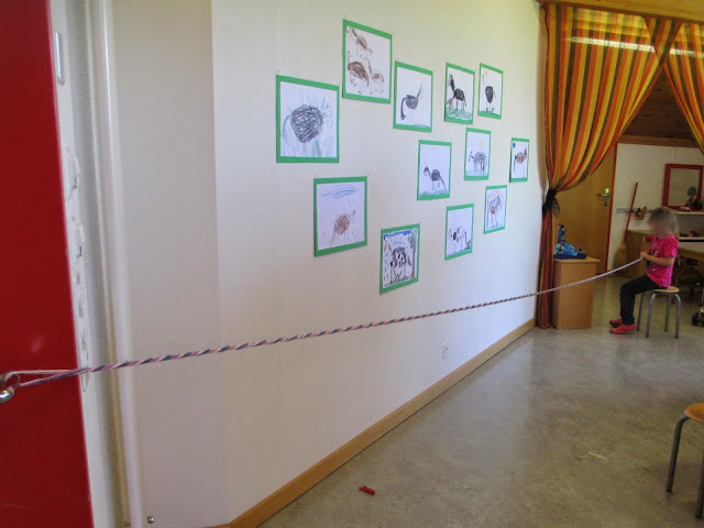 Basteln im Kindergarten Pferd Halfter Zaumzeug
