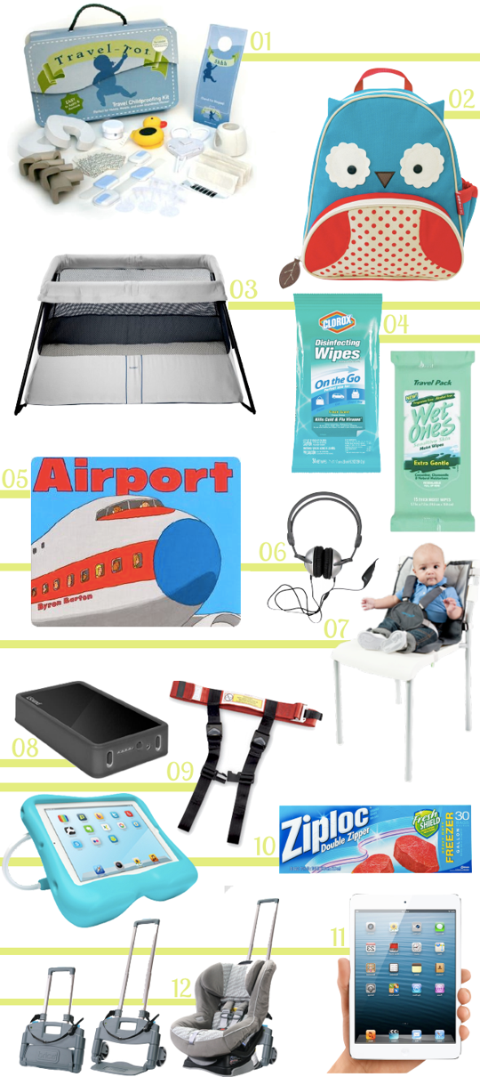 12 Best Gear to Travel with a Baby or Toddler