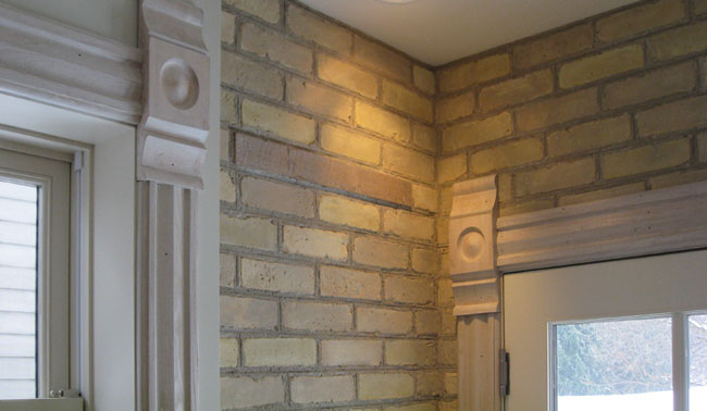 interior design decorating ideas interior brick wall. Black Bedroom Furniture Sets. Home Design Ideas