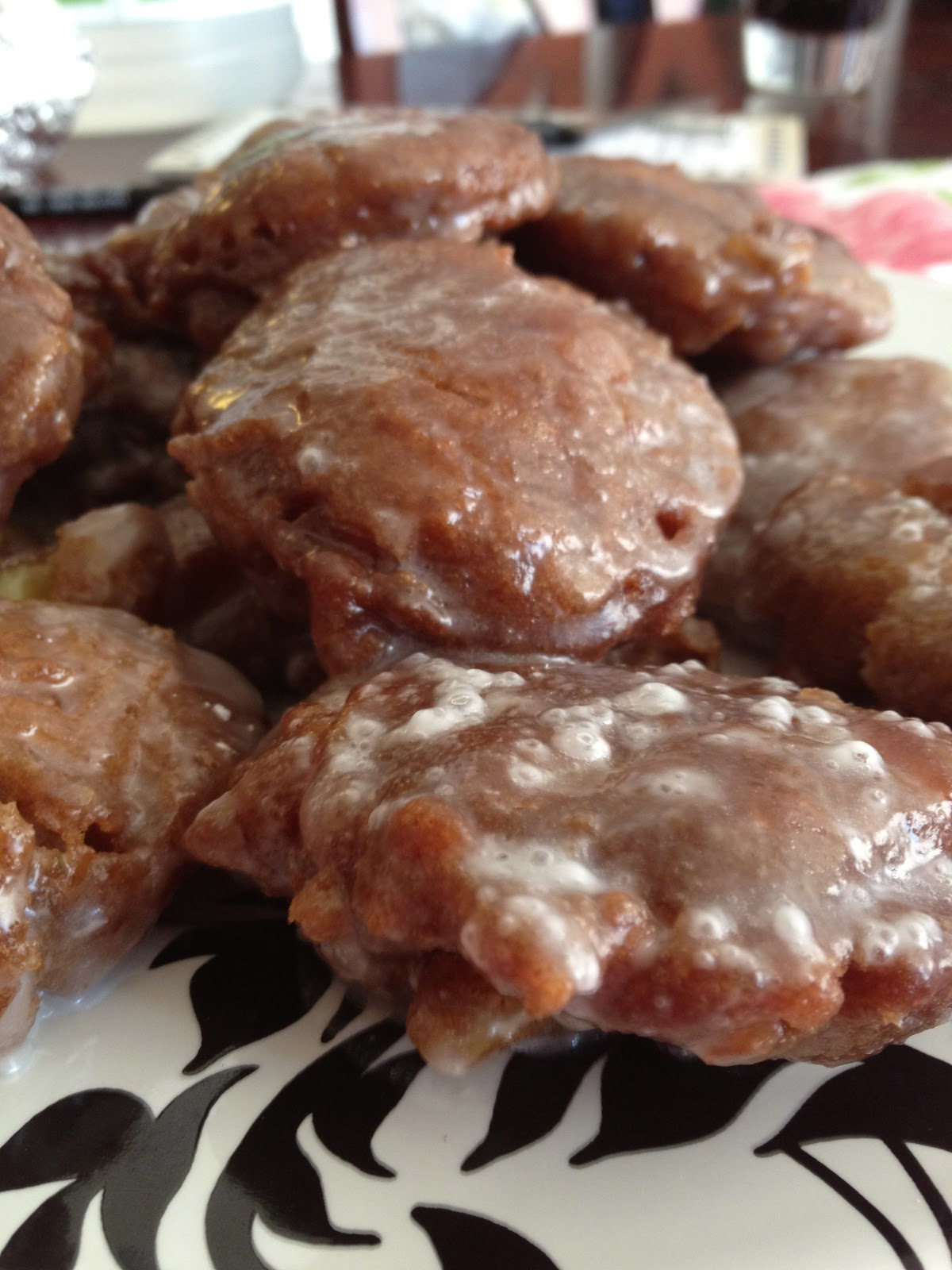 portuguese apple fritters fried apple fritters deep fried apple ...
