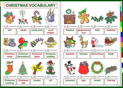 EOIPiedralavesMercury: CHRISTMAS VOCABULARY