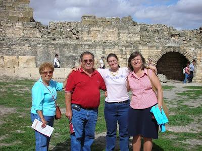 Ruinas de Segóbriga, Saelices, Cuenca,  La vuelta al mundo de Asun y Ricardo, round the world, mundoporlibre.com