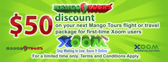 Xoom coupon code