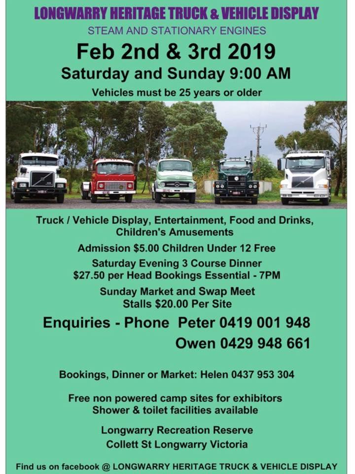 Longwarry Heritage Truck Show