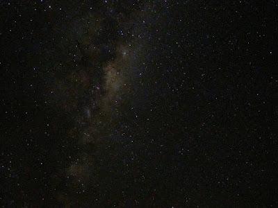 Aoraki estrellas cielo nocturno