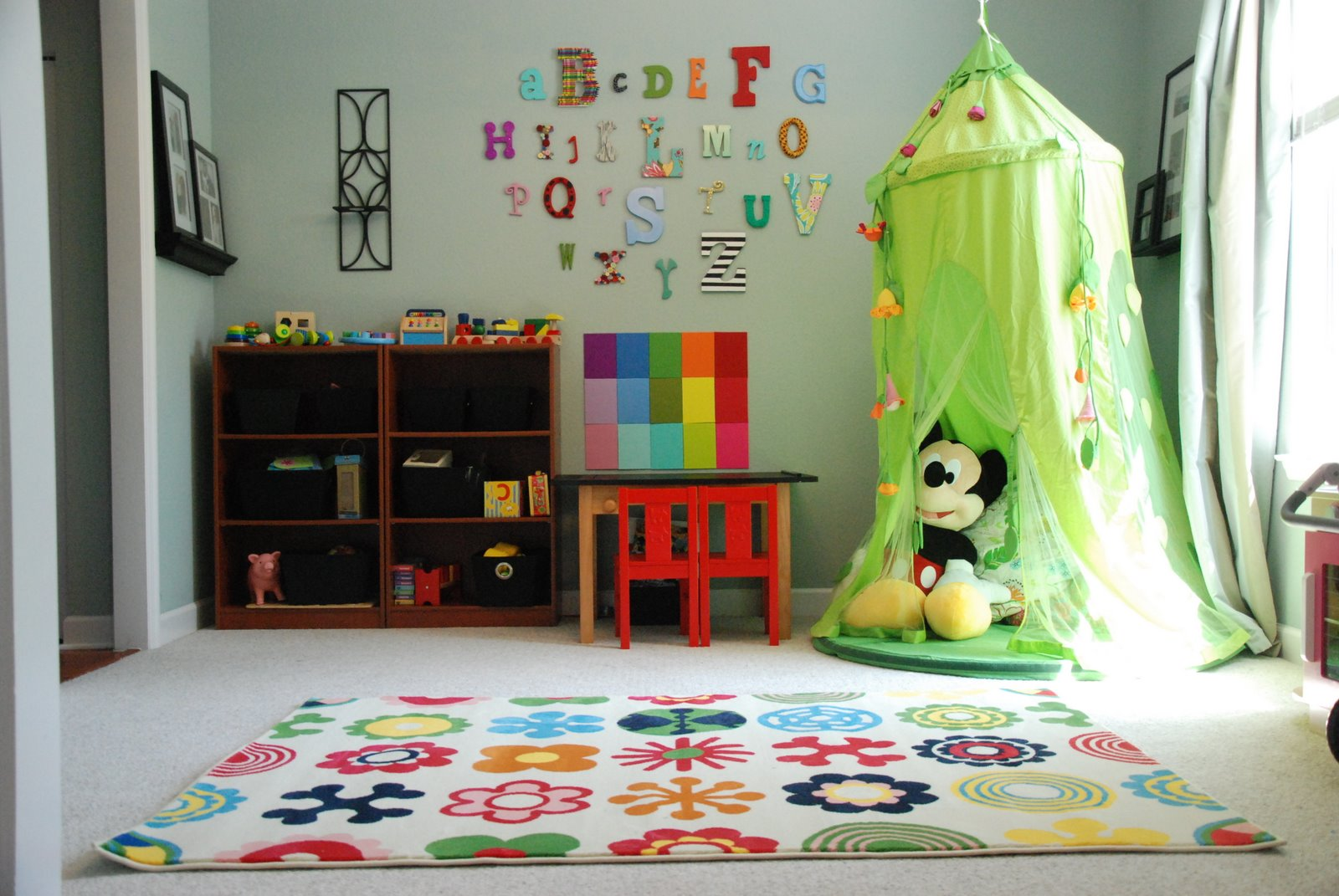 Mab test playroom makeover reveal for Fun room decor
