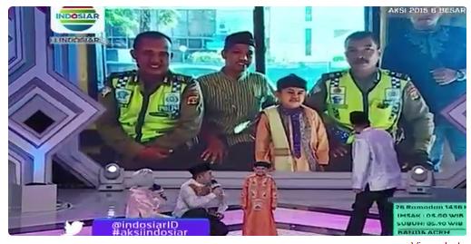 Peserta AKSI yang Mudik Babak 6 Besar Tgl 13 Juli 2015 (26 Ramadhan)
