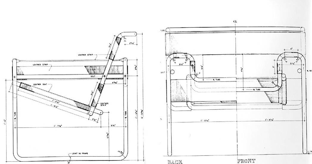 Date in design a designer 39 s almanac breuer knoll kravitz for Wassily stuhl design analyse