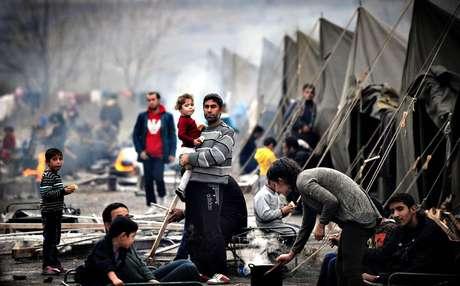 Drama de los refugiados sirios