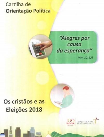 CARTILHA DE ORIENTAÇÃO POLÍTICA