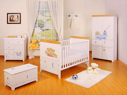 Beautiful nursery furniture baby bedroom set ideas