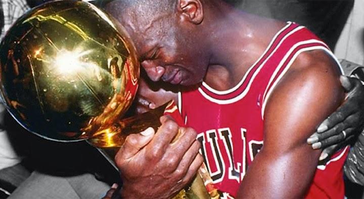MJ Championship trophy