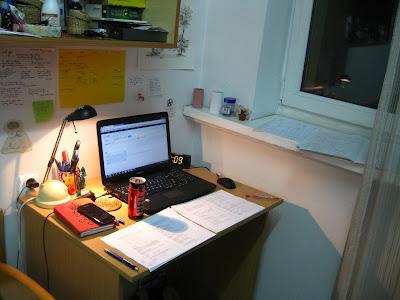 college, desk