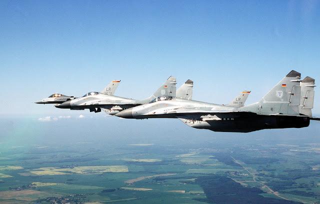 USAF F-16 German Mig-29